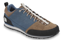 The North Face Men's Scend Leather shark blue/utility brown